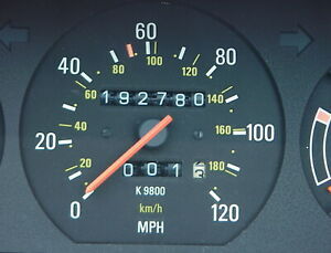 Volvo 240 Gauge Cluster K9800 1990 WAGON. Only Correct For 1990. 192,780 miles