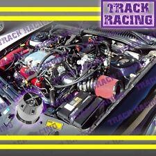 97 98-05 PONTIAC GRAND AM MALIBUALERO 3.1L 3.4L V6 AIR INTAKE+CHF Black Red TB
