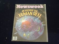 1979 AUG 20 NEWSWEEK MAGAZINE - THE HUMAN CELL - BEAUTIFUL FRONT COVER - B1192