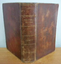 1846 EAST-INDIA REGISTER & Army List by F Clark, Leather, Rare