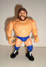 FIGURINE DE CATCH HASBRO 1991 TITAN SPORTS JIM DUGAN BLUE TRUNKS (11x7cm)