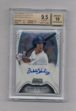 BUBBA STARLING 2011 BOWMAN STERLING AUTO RC BGS 9.5 10
