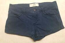 Hollister Short-Short Low Rise Navy Blue Woman's Shorts Size 7