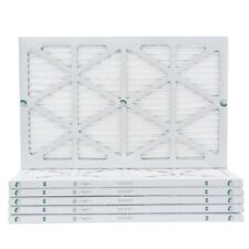 16x30x1 Merv 13 Pleated Air Filters. 12 Pack. Actual Size: 15-5/8 x 29-5/8 x 7/8
