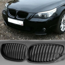 For 04-09 BMW E60 E61 5 Series M5 Front Kidney Bumper Grille Grill Matte Black