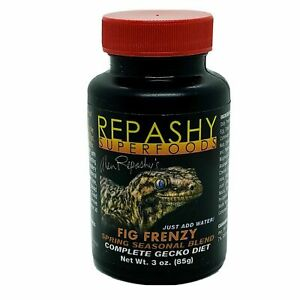 REPASHY CRESTED GECKO FIG FRENZY COMPLETE FOOD 85g 0643854999610