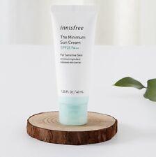[innisfree] The minimum sun cream  SPF25  PA++ / For Sensitive Skin