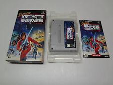 Super Star Wars Teikoku No Gyakushu Nintendo Super Famicom Japan