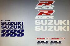 Suzuki GSXR1100 GSXR1100M Restoration Decal Set 1991