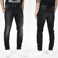 Diesel Herren Slim Skinny Fit Stretch Röhren Jeans Hose - Troxer R6T80 - Schwarz