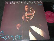 Miriam Makeba a promise/DDR REISSUE LP 1979 Amiga 855416