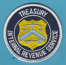 INTERNAL REVENUE SERVICE  DEPARTMENT OF THE TREASURY PATCH.  IRS