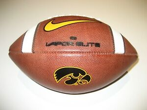 10/12/2019 Iowa Hawkeyes vs Penn State GAME BALL Nike Vapor Elite Football Univ