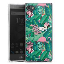 Blackberry Motion Silikon Hülle Case Handyhülle Minnie Summer Palmblätter