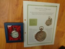 HACHETTE CLASSIC POCKET WATCH COLLECTION - TRIANON 1700'S STYLE WATCH ISSUE 80