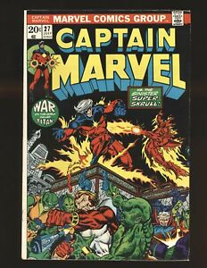 Captain Marvel # 27 F/VF Cond.