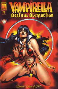 Vampirella: Death And Destruction #1A VF/NM; Harris | save on shipping - details