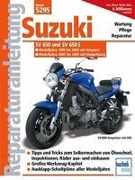 SUZUKI SV 650 S ab 1999 Reparaturanleitung Reparatur-Handbuch Reparaturbuch Buch