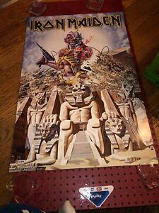 "Iron Maiden ""Somewhere Back In Time/Eddie"" Album Artwork Poster(2017, Unused)"