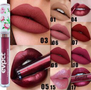 Matte Liquid Lip Gloss Lipstick Long Lasting Waterproof Full Shades Moisturising