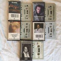 Lot of 5 Neil Diamond Cassette Tapes Serenade September Morn Beautiful Noise FS!
