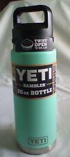 Yeti Rambler 26oz Bottle Seafoam - New!