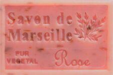 savon de marseille au petale de rose
