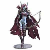 7-Inch World of Warcraft Sylvanas Undead Queen Action Figure Doll Model PVC Toy