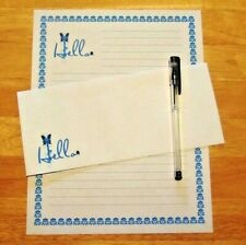 Hello Greeting Stationery Writing Set With Envelopes - Lined Stationary