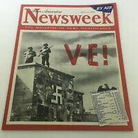 VTG Newsweek Magazine: May 14 1945 - Europe War Ended / Newsstand / By Air