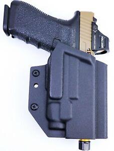 Skullhead Arms OWB Holster fits: Glock 19 19X 17 22 23 45 34 35 TLR7A TLR7