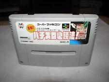 Jissen Pachislot Hisshouhou Super Famicom SFC Japan import