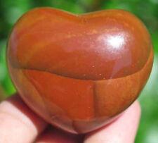45mm 2.2OZ NATURAL Mookite/Mookaite Jasper CRYSTAL Carving ART Heart