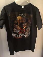 Fetty Wap + Post Malone Welcome To The Zoo 2016 Tour Concert Black T-Shirt M