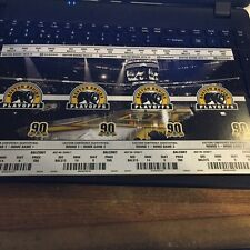 2014 BOSTON BRUINS PLAYOFF TICKET STUB SHEET SET VS CANADIANS AND STANLEY CUP
