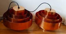Pair of Fog & Morup ULTRA Jo Hammerborg Pendant Ceiling Lamp - Mid-century Light