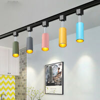 Macaron 5W/10W LED COB Ceiling Light Picture Spotlight Rotatable Rail Track Lamp
