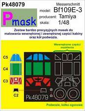 MESSERSCHMITT Bf-109 E-3 PAINTING MASK TO TAMIYA KIT #48079 1/48 PMASK