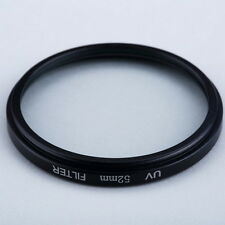 52mm Haze UV Filter Lens 52mm Lens Protector For DSLR/SLR/DC/DV Camera Lens DY