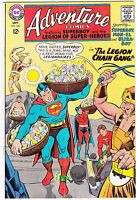 Adventure Comics #360 - The Legion Chain Gang! - 1967