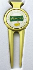 2018 Augusta National MASTERS WHITE BALL MARKER with MASTERS  DIVOT TOOL