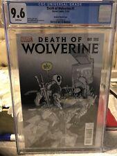Death Of Wolverine Variant Edition Deadpool # 1 CGC 9.6