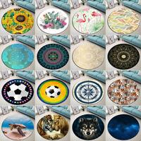 Abstract Mandala Animal Bedroom Floor Mat Yoga Decor Area Rugs Kids Play Carpet