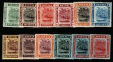 More details for brunei sg34/47 1908-22 colours changed definitive set mtd mint