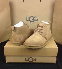 UGG Australia Boots Neumel Chestnut Suede Wool US Size 10 Men