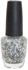 OPI I Snow You Love Me HL E16 Nail Lacquer Polish Silver Shimmer Shine US Seller
