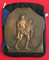 "WW1 - TRENCH ART - 2 US ""DOUGHBOYS"" ""BUDDY MEMORIAL"" From JAFFREY NEW HAMPSHIRE"
