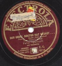 Peter Igelhoff singt : Der Onkel Doktor hat gesagt + Nur ein Viertelstündchen li