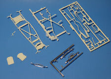Amt/Ertl 1941 Ford Woody Frame/Chassis Set (1999 Release) (Gray) 1/25 Scale