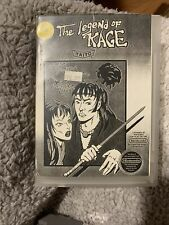 Nintendo Nes Game And Manual The Legend Of Kage With Custom Case